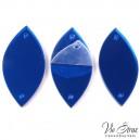 Зеркала Листик  Sapphire 35*17 mm