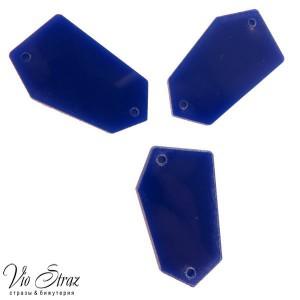 Зеркала Синие  28*17 mm