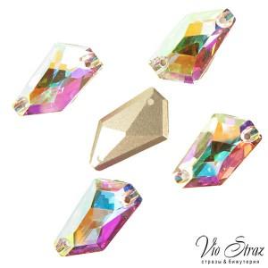 Ломанная форма De-Art Crystal AB 23*13 mm