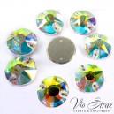 Риволи Xirius 8+8 Crystal AB 10 mm