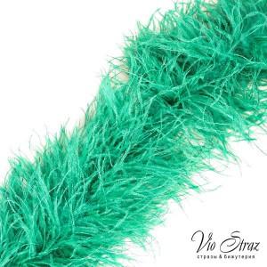 Боа зеленое (Cool Agua) 5-ти нитка