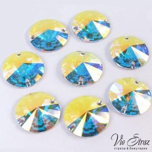 Кружок Rivoli  Crystal AB 14 mm