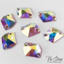 Cosmic Sew-on Stone Crystal AB 21*27 mm