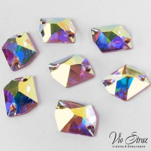 Скошенный Ромб Cosmic Crystal AB 27*21 mm