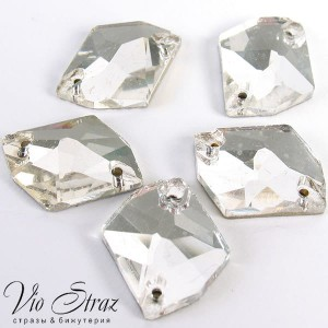Скошенный Ромб Cosmic Crystal  27*21 mm