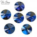 Rivoli Stones Capri Blue12 mm