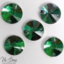 Кружок  12 mm Emerald