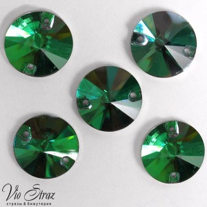 Кружок  14 mm Emerald