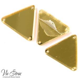 Зеркала Треугольник Gold 30 mm
